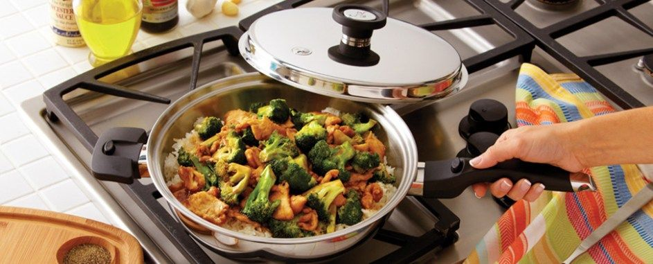 Waterless Cookware Recipes Lead To Tasty Meals